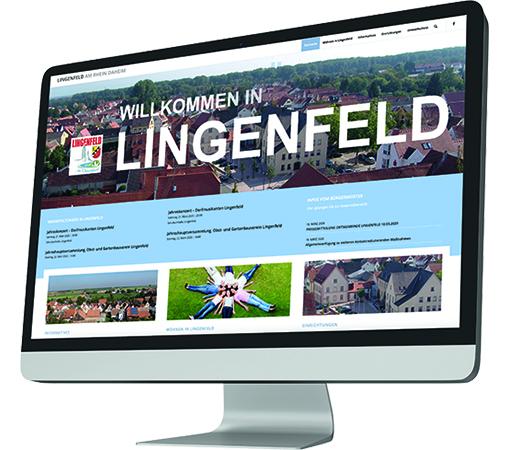 Webseite erstellen Lingenfeld