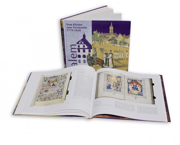 Buchdruck und Gestaltung - Salem vom Kloster zum Fürstensitz