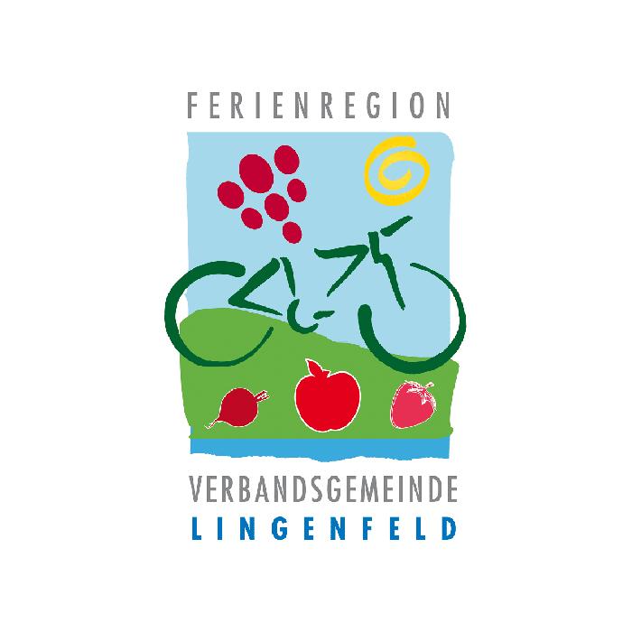 Logo, Flyer, Wanderkarten, Schilder und Weinkartons für den Tourismusverein Lingenfeld