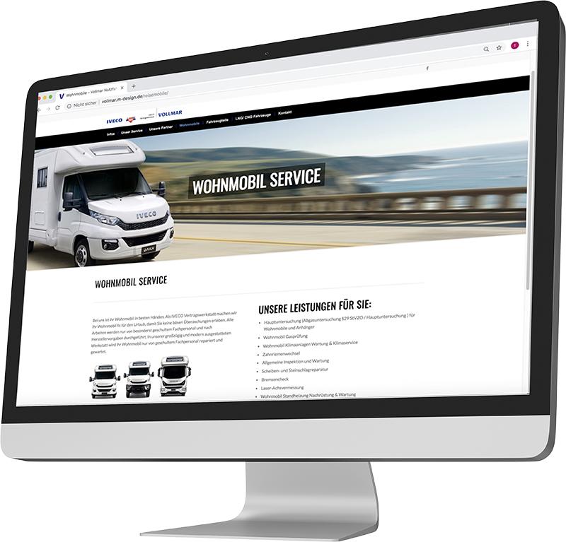 Homepage erstellen lassen Speyer