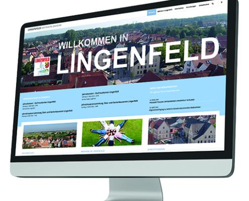 Homepage für die Ortsgemeinde Lingenfeld