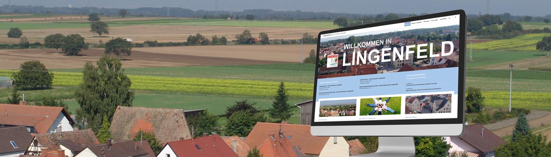 Webdesign für Gemeinde Lingenfeld