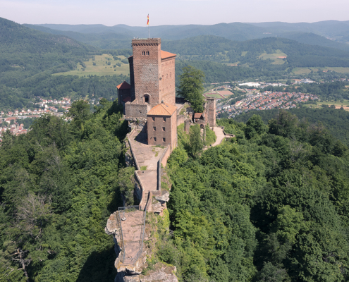 Drohnenfotos Burg Trifels