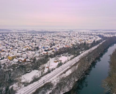 Lingenfeld von Osten