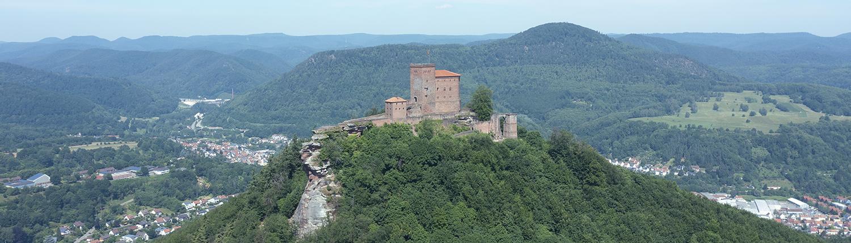 Burg Trifels in Annweiler an der Südlichen Weinstraße